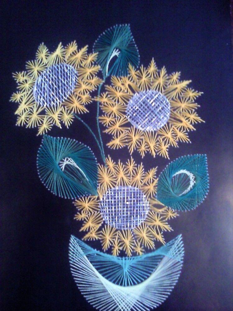 важное фото рисунка изонитью зима цветы, которые цветут