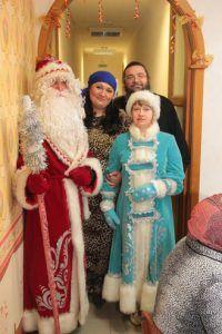 Храмовые Деды Морозы