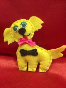 Сказка про желтого щенка