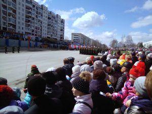 Парад Победы в Юрге