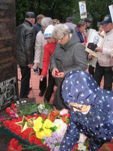 Свеча памяти в Полевском