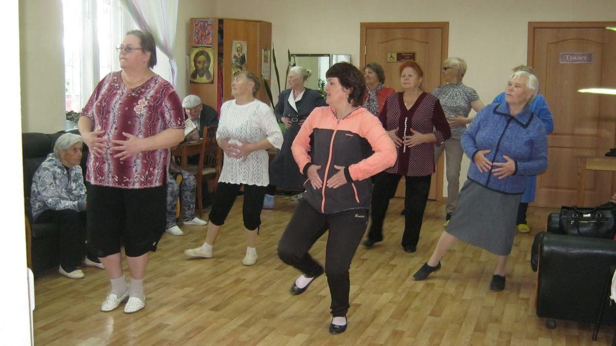 Возраст танцу не помеха