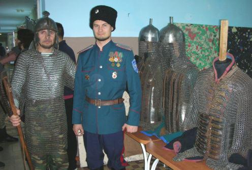 Казаки на фестивале Тарский Дозор