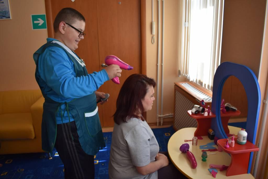 Организация работы по профессиональной адаптации детей с ОВЗ. Ушакова Ю.С., Полярнинский КЦСОН
