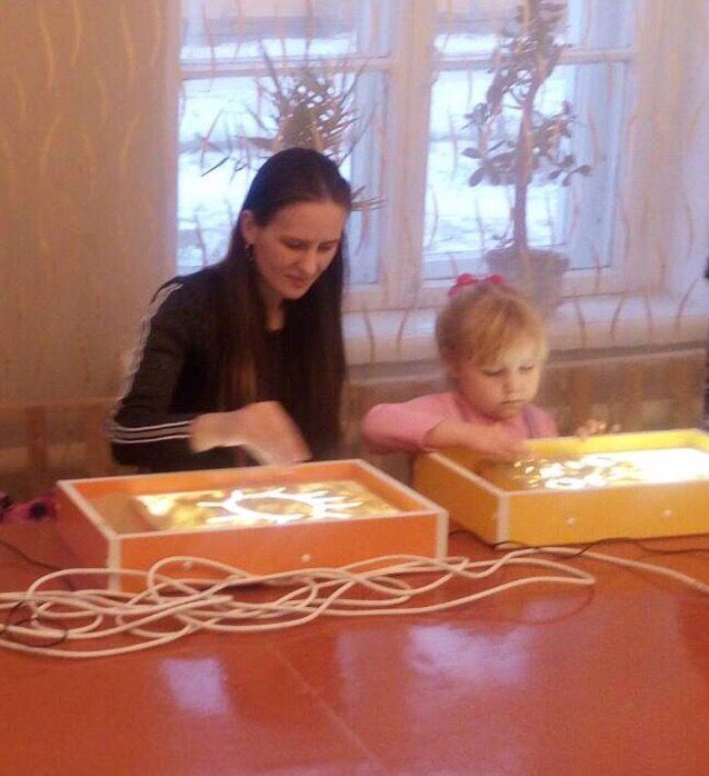 Пескотерапия для детей с ограниченными возможностями здоровья. Иванова А.
